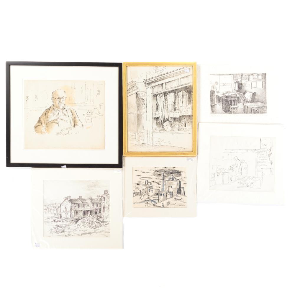 Six Artworks by Glushakow, McGuire and Perlman