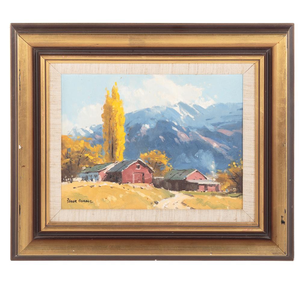 "Peter Beadle. ""Autumn and Coronet Peak..."""