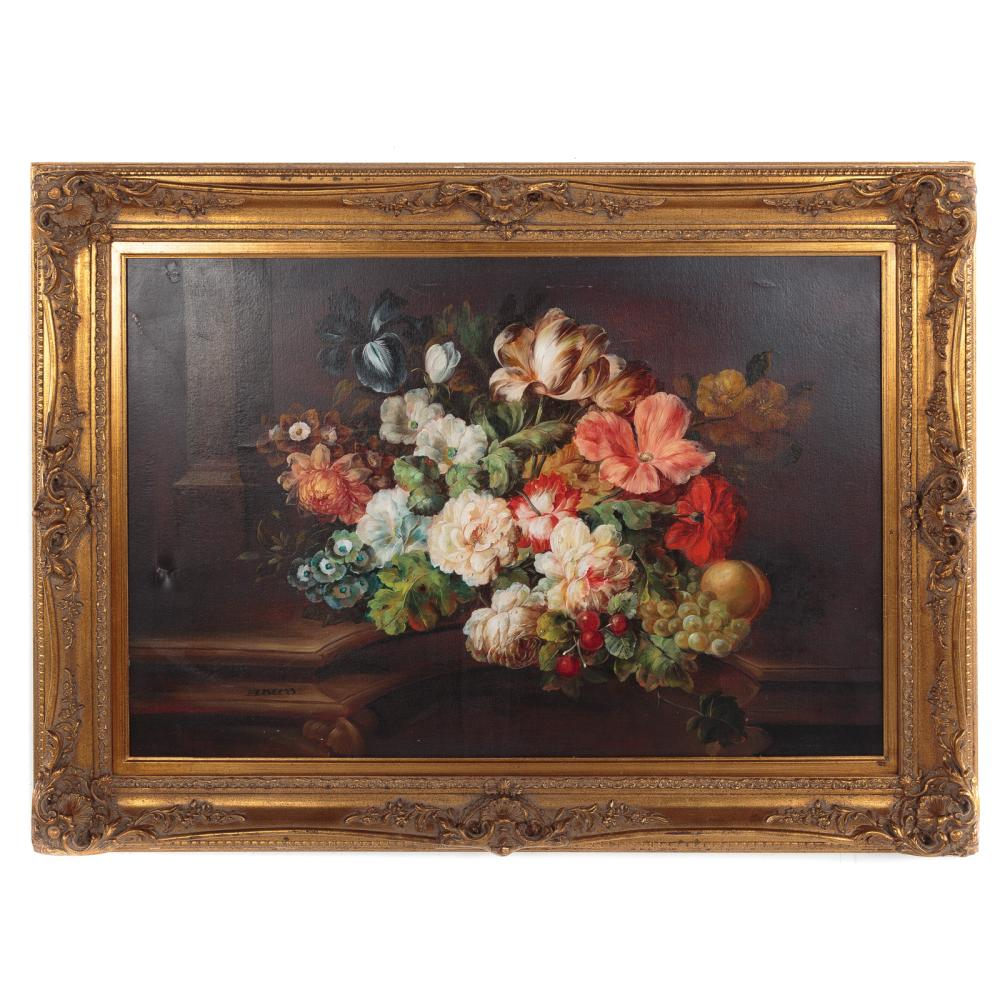 Marcus Elbeco. Still Life with Flowers