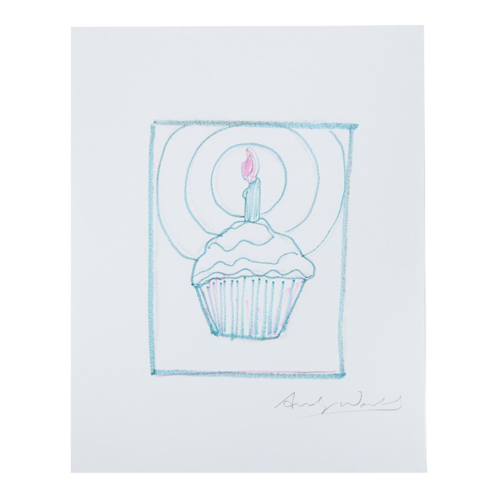 Andy Warhol. Cupcake Candle