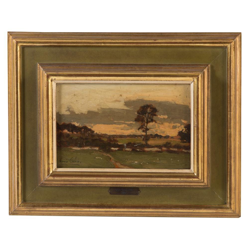 Louis Alexandre Cabie. French Landscape