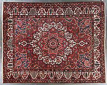 Antique Bahktiari carpet, approx. 10.6 x 13.1