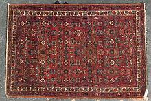Antique Hamadan rug, approx. 3.3 x 4.9