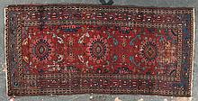 Antique Hamadan rug, approx. 3.1 x 6.5