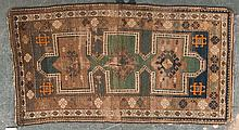 Antique Kazak rug, approx. 3 x 5.3