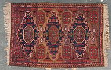 Antique Soumak rug, approx. 4.5 x 6.3