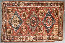 Antique Soumak rug, approx. 6.7 x 9.8