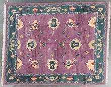 Tibetan carpet, approx. 8.6 x 10.6