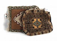 Persian Yamout handbag & Turkish Milas pillow