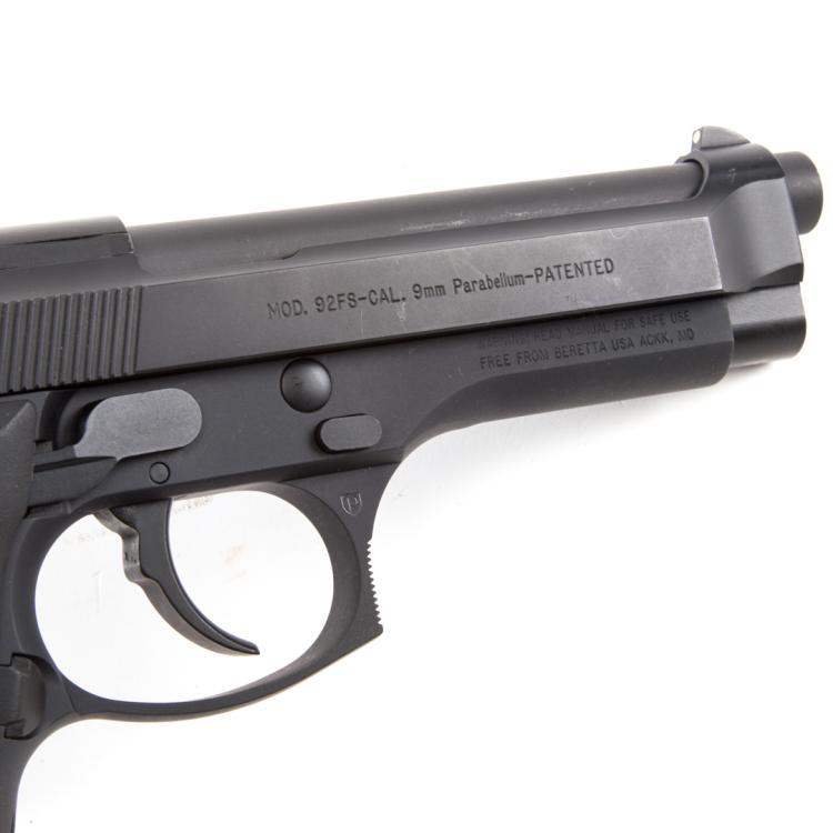 Auto Auction Md >> Beretta model 92FS 9mm semi-auto pistol