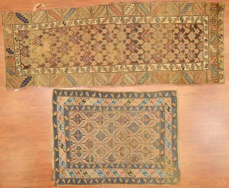 Two antique caucasian rugs caucasus circa 1900 for Alex cooper real estate auctions