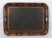 Victorian toleware tea tray