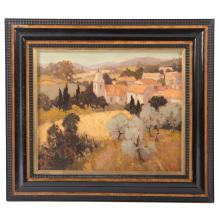 Alan Ronald. Village Landscape