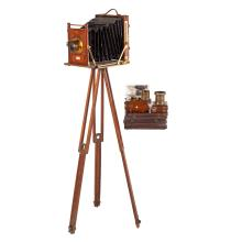 Watson & Son Wood/Bellows Camera Outfit