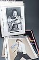 [Autographs: Music] Five signed photos, including Mick Jagger, Dan Fogelberg, Leon Redbone,