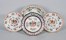 Four Samson porcelain items
