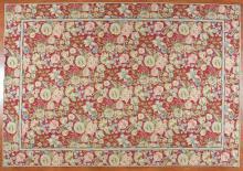 Needlepoint carpet, approx. 10 x 14