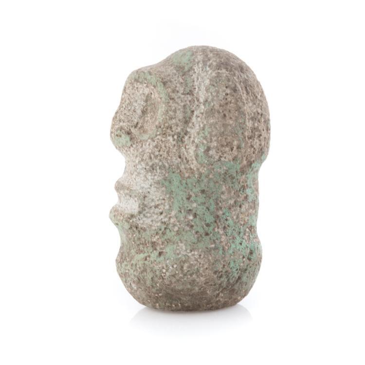 Pre columbian taino stone carving hispaniola