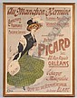 19th FRENCH ADVERTISING POSTER