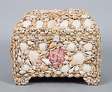 Shell covered dresser box