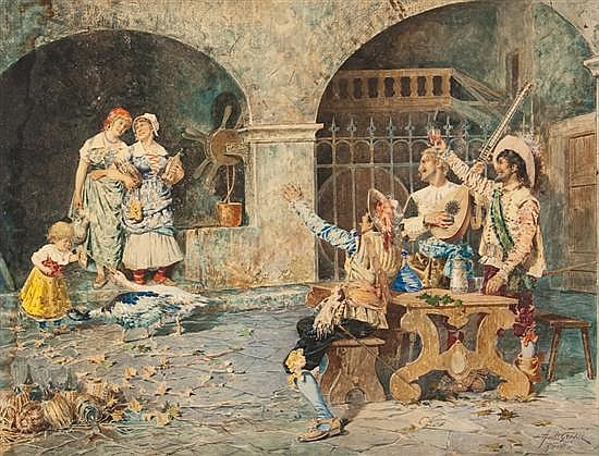 Adelchi de Grossi (Italian, 1852-1892)