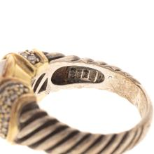 Lot 134: A Collection of David Yurman Silver & 18K Jewelry