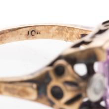 Lot 159: A Trio of Ladies Featuring Diamonds in 10K