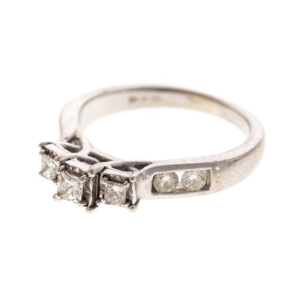 Lot 160: Two Ladies Diamond Rings in 14K & 10K Gold