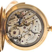 Lot 169: An 18K Jules Jurgenson Repeater Pocket Watch