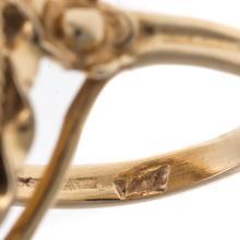 Lot 192: Two Ladies Vintage Gemstone Rings in 14K Gold