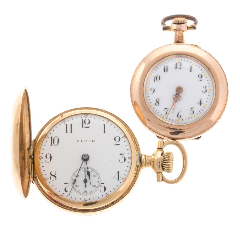 A Pair of Ladies Pocket Watches