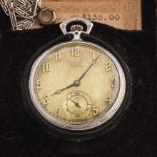 Lot 200: A Gentlemen's Howard Pocket Watch