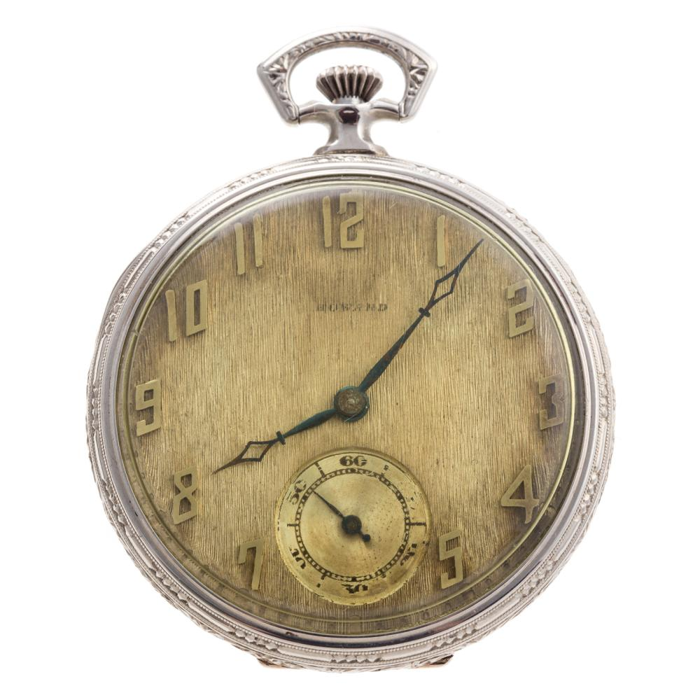 A Gentlemen's Howard Pocket Watch