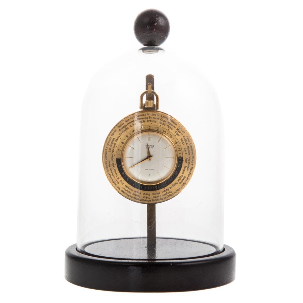Lot 211: A Hermes Pocket Watch Owned by Sen. John H. Glenn