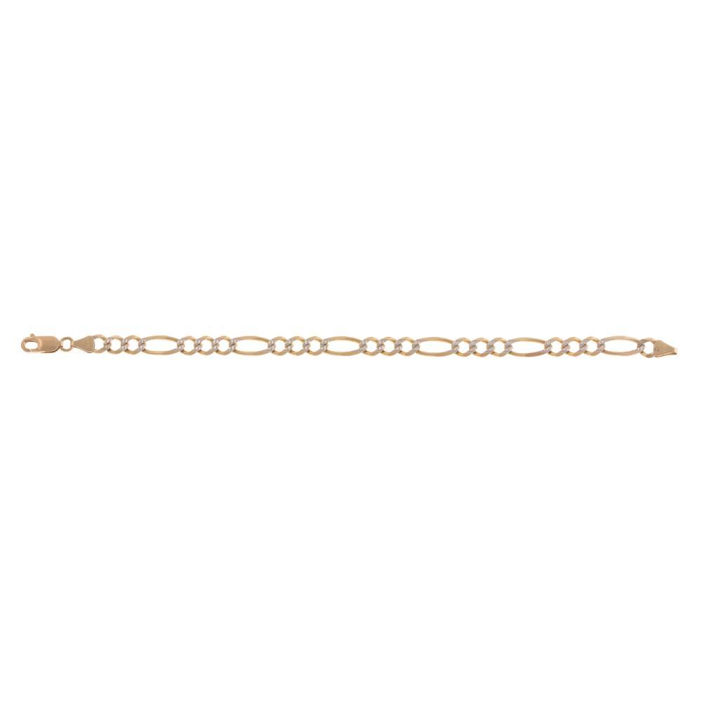 Lot 212: A Gent's Gold Bracelet & Two Chains & Pendant'