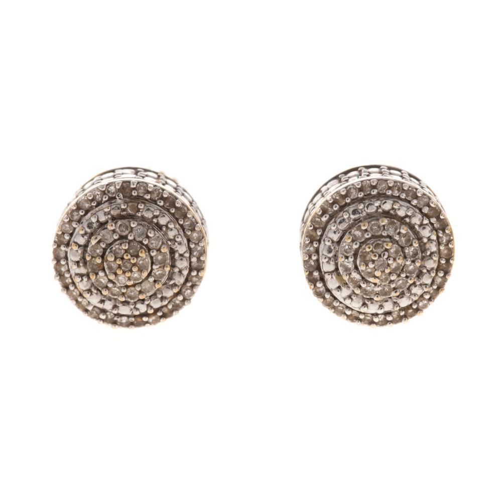 Lot 242: A Pair of Diamond Earrings & Diamond Shoe Pendant
