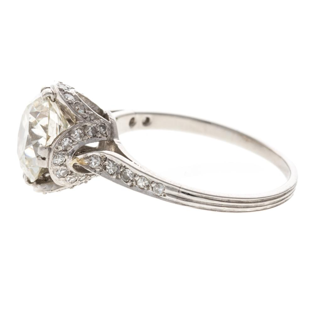 Lot 245: A Ladies 2.25 ct. Diamond Engagement Ring