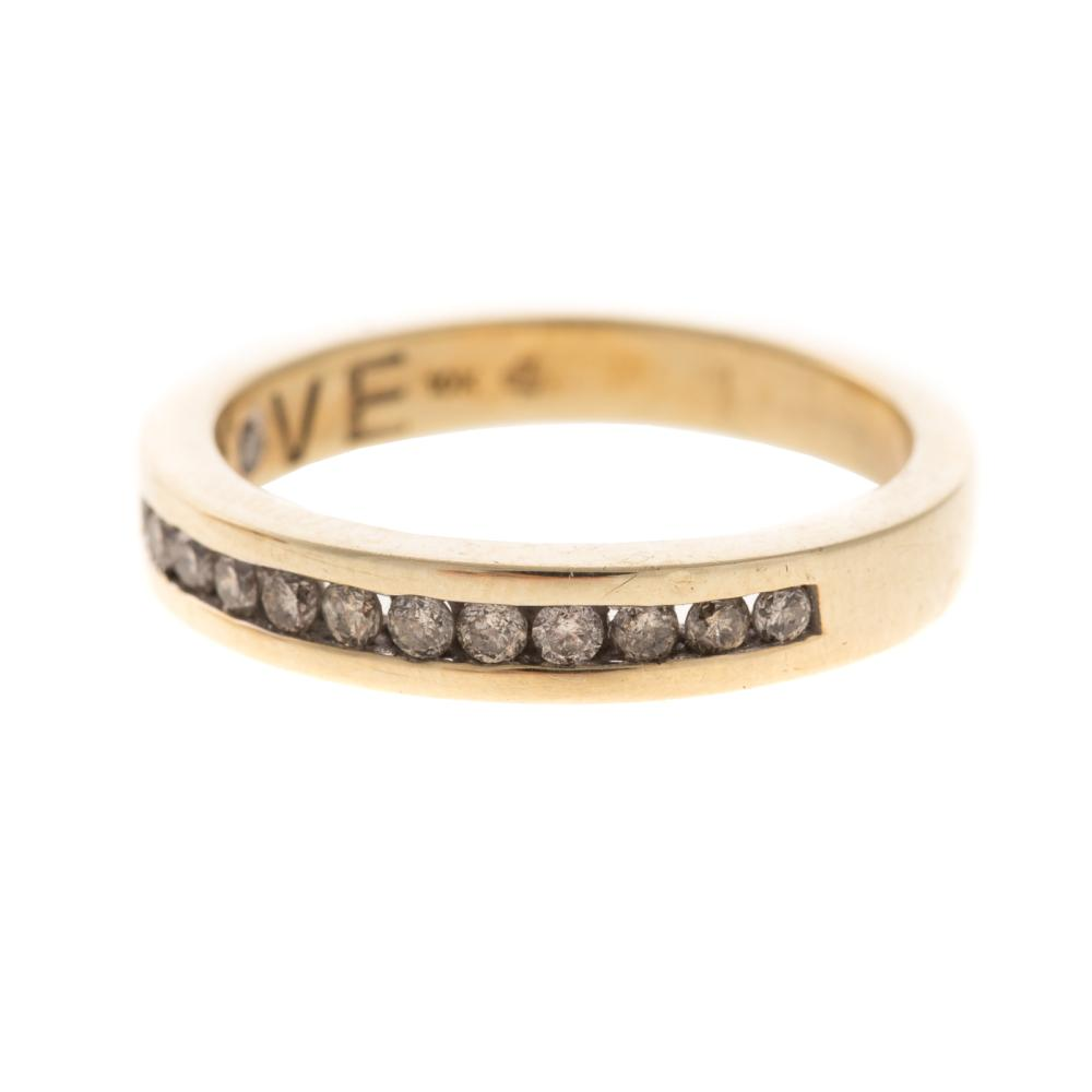 Lot 261: A Trio of Diamond & Gemstone Rings in Gold