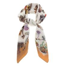 "Lot 303: A Hermes ""Champignons"" Scarf 90"