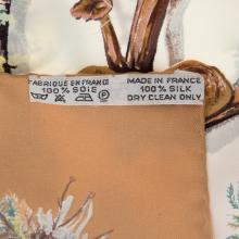 """Lot 303: A Hermes """"Champignons"""" Scarf 90"""