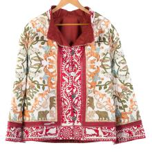 Lot 308: A Vintage Hermes Quilted Silk Jacket
