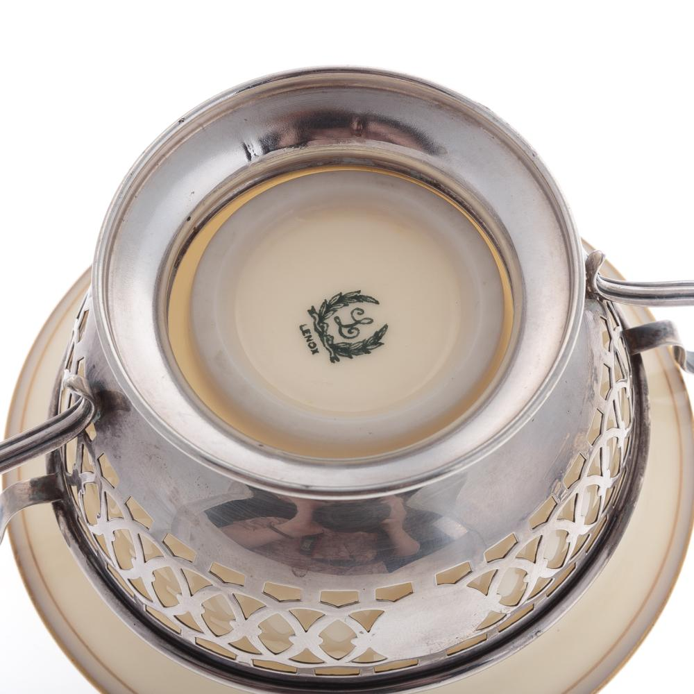 Lot 404: A Trio of Pierced Sterling Bon Bon Bowls