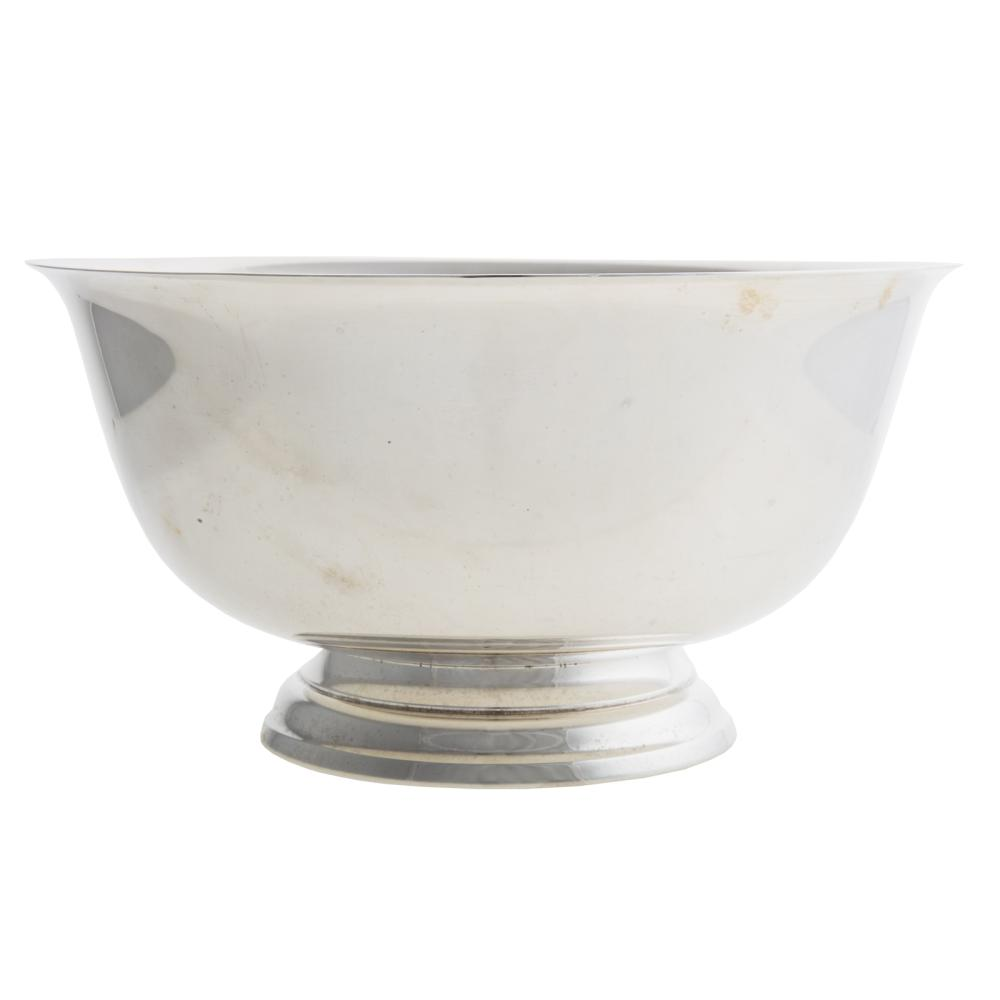Lot 412: Gorham Sterling Paul Revere Style Bowl