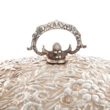 Lot 434: An Impressive S. Kirk & Son Sterling Dish & Cover