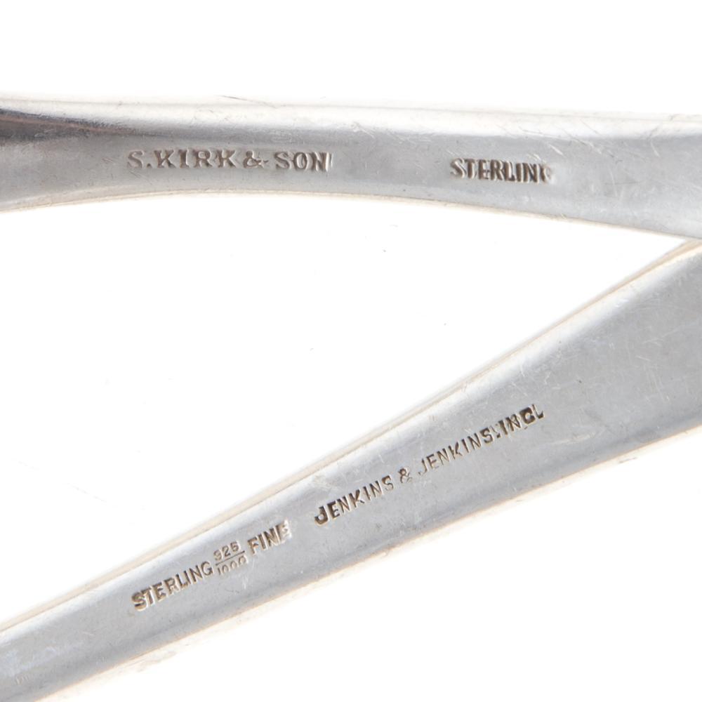 Lot 456: Steiff Sterling Repousse Partial Flatware Service