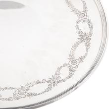 Lot 464: Tiffany & Co. Sterling Silver Cake Plate