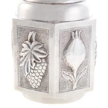 Lot 462: Mexican Sterling Silver Decanter