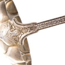 "Lot 465: Tiffany & Co. Sterling ""Persian"" Punch Ladle"