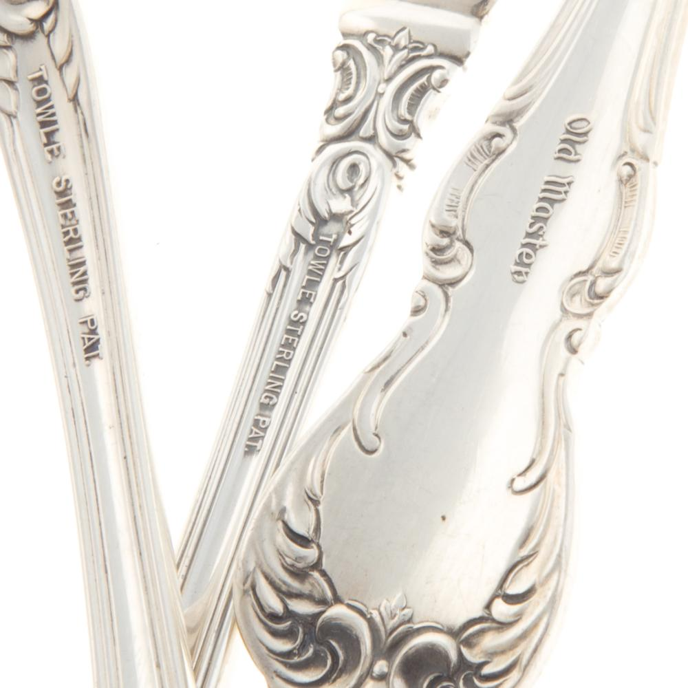 "Lot 476: Towle Sterling ""Old Master"" Flatware Service"