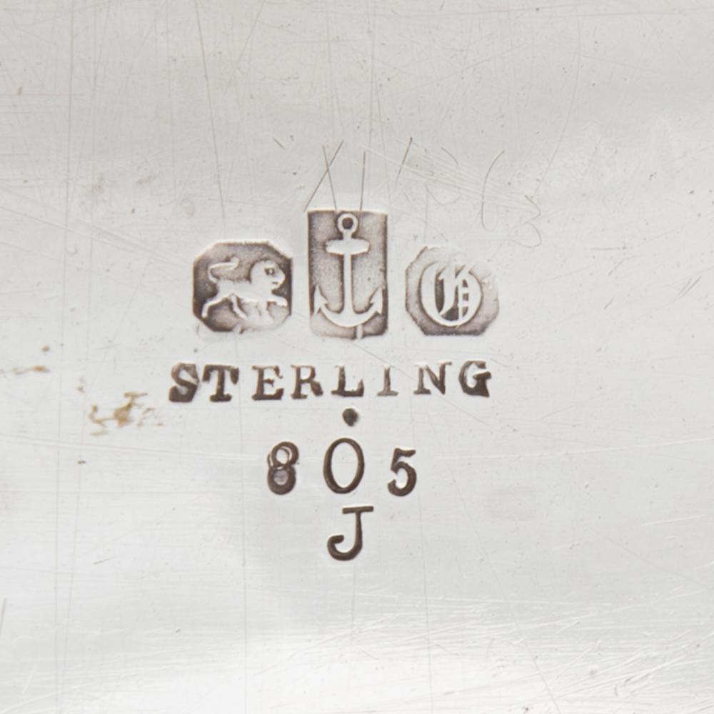 Lot 475: Gorham Sterling Silver Cake Basket